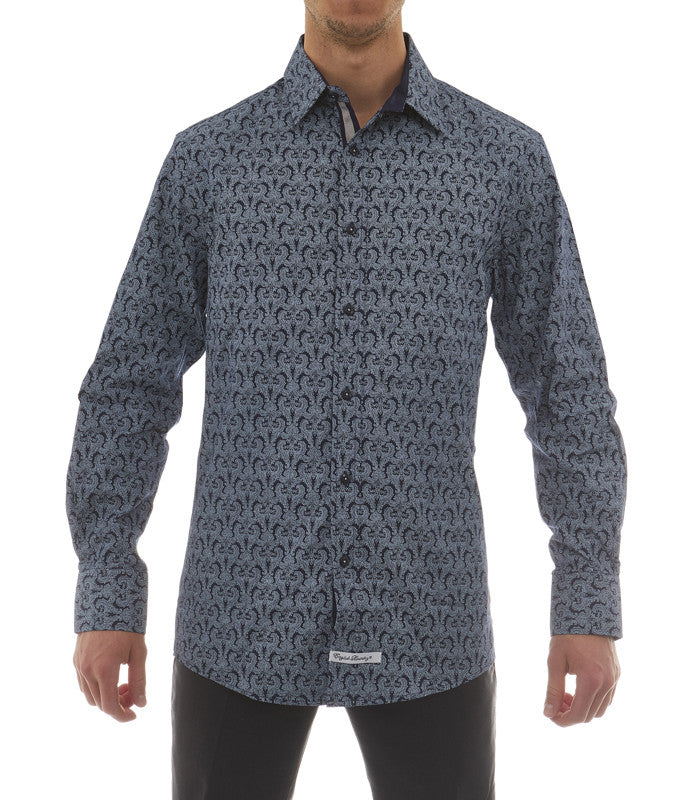 Pattern Button Down Shirt