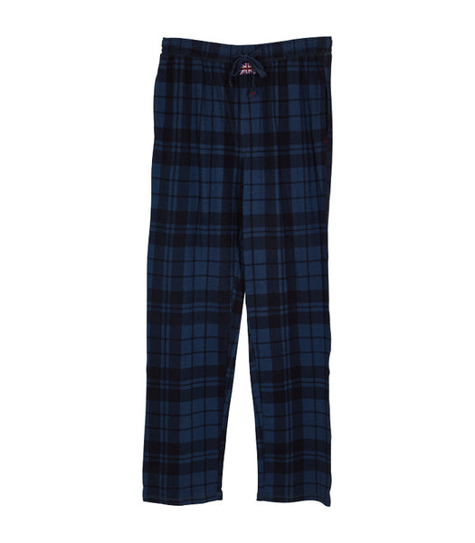 Plaid Drawstring Pant