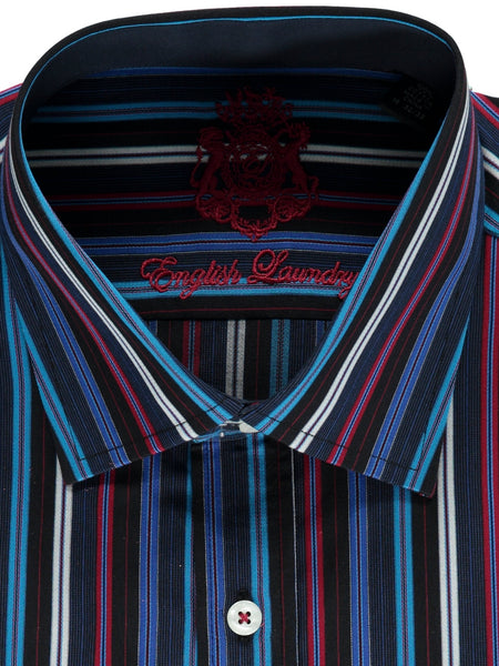 Colorful Striped Dress Shirt