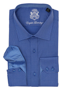 BLUE STAR DRESS SHIRT