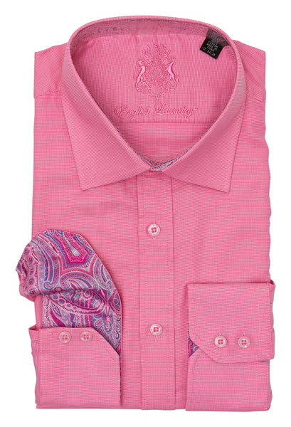 Bright Pink Dress Shirt