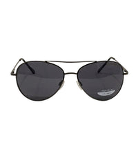 Gunmetal Frame/Black Smoke Lens Sunglasses