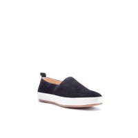 English Laundry Wynne Suede Loafer, Black
