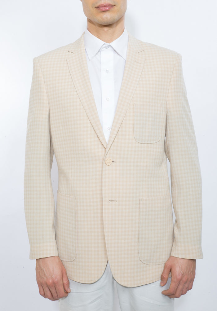 ENGLISH LAUNDRY TAN SLIM FIT BLAZER