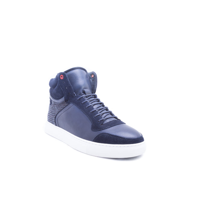 English Laundry Brighton High Top Sneaker, Navy