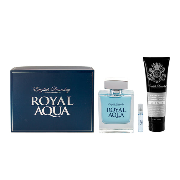 Royal Aqua 3pc Gift Set