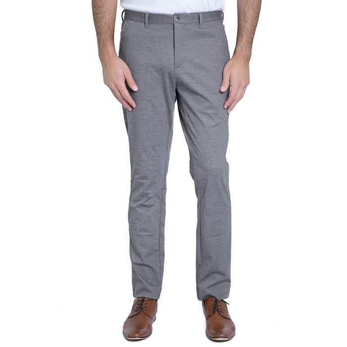 English Laundry Men's Knit Flat Front Bowery Pant
