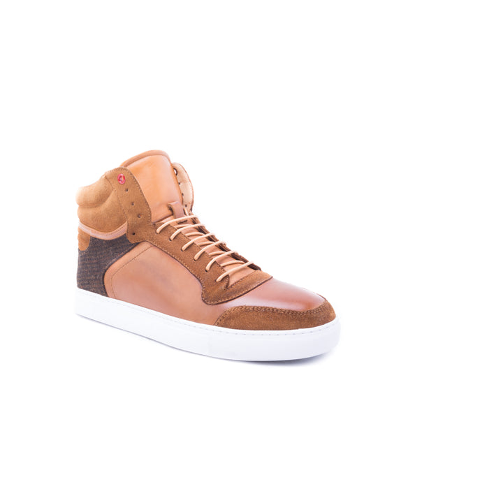 English Laundry Brighton High Top Sneaker, Brown