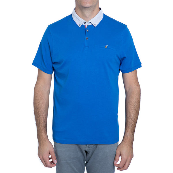 English Laundry Blue Polo Shirt