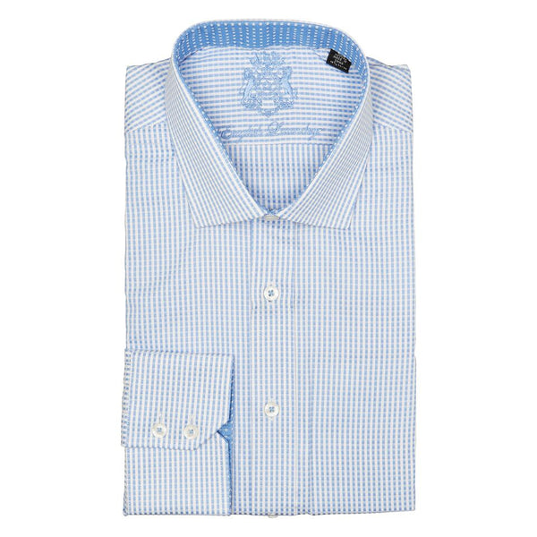 BLUE STRIPE LONG SLEEVE DRESS SHIRT