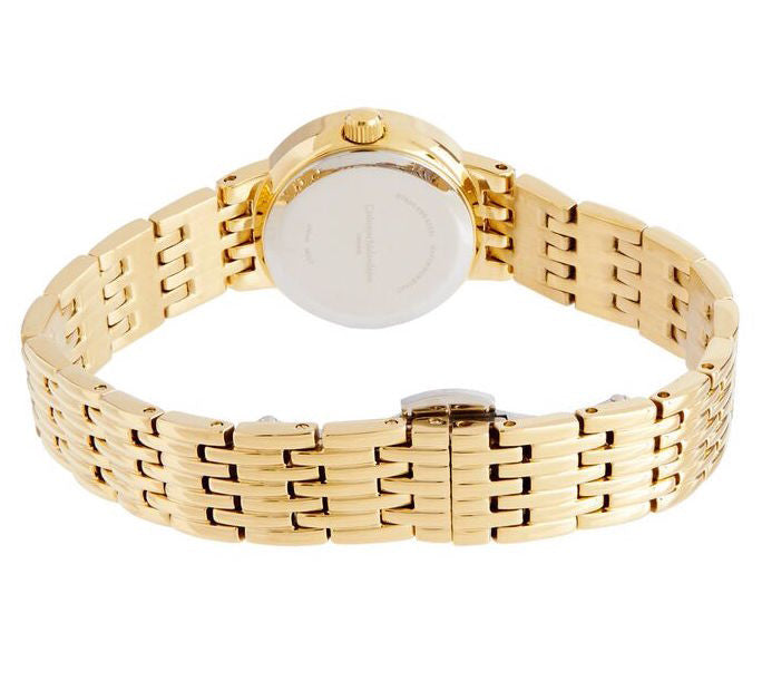 Catherine Malandrino Gold Fashion Watch