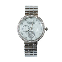 Catherine by Catherine Malandrino Silver Fashion Watch