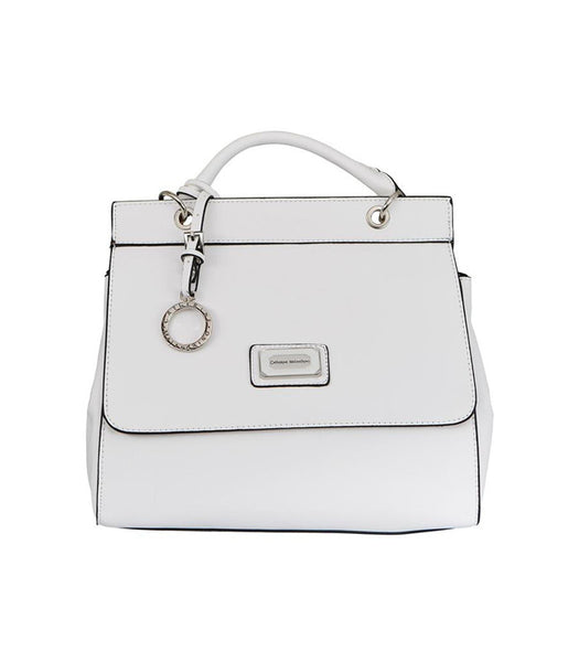 White Juliet Shoulder Bag