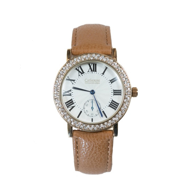 Catherine by Catherine Malandrino Brown Fashion Watch