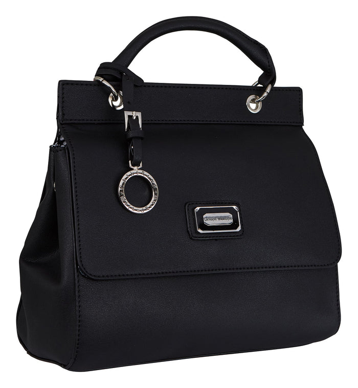 Black Juliet Shoulder Bag