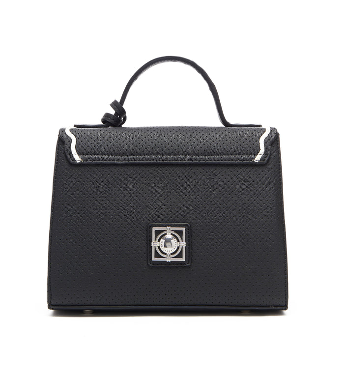 BLACK CORA CONVERTIBLE SATCHEL