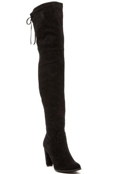 Sorcha Faux Fur-Lined Heeled Boots