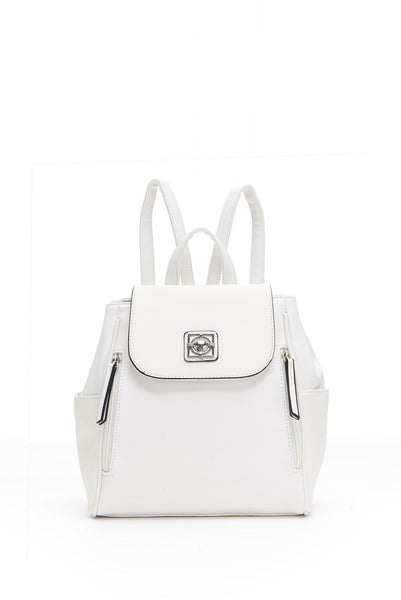 WHITE ABIGAIL BACKPACK