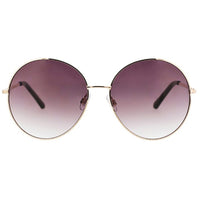 Oversized Retro Extreme Round Sunglasses
