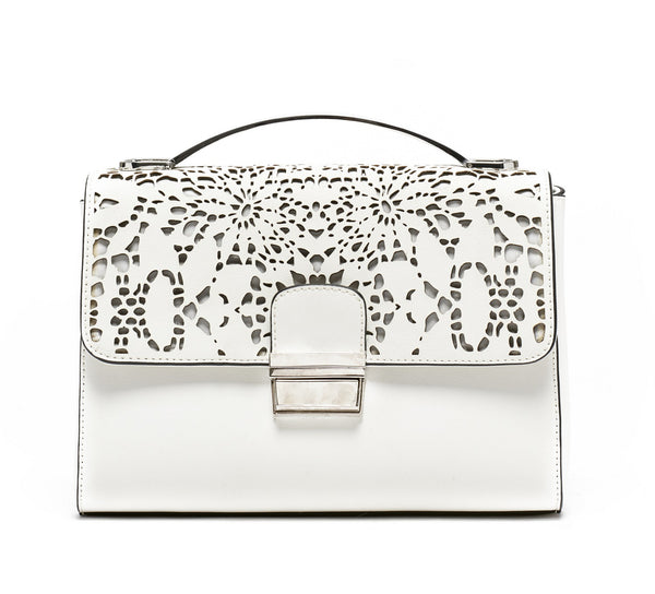 WHITE LOLA CROSSBODY