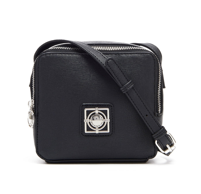 BLACK FLORA CROSSBODY