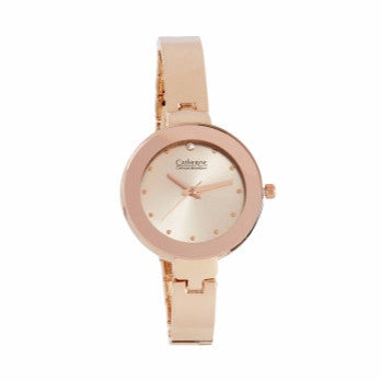 Rose Gold Watch with Rose Gold Face