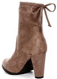 Catherine Catherine Malandrino Sorchanie Womens Fashion Heeled Booties