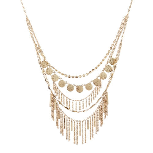 5 Row Necklace