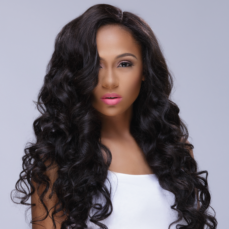 Indian Straight, Wavy Deep Wave
