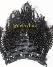 Clip-In (100g) Kinky Curly