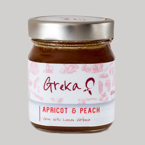 Apricot & Peach Jam with Lemon Verbena