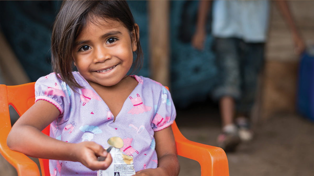 When you buy Good Spread, you help save a child's life.
