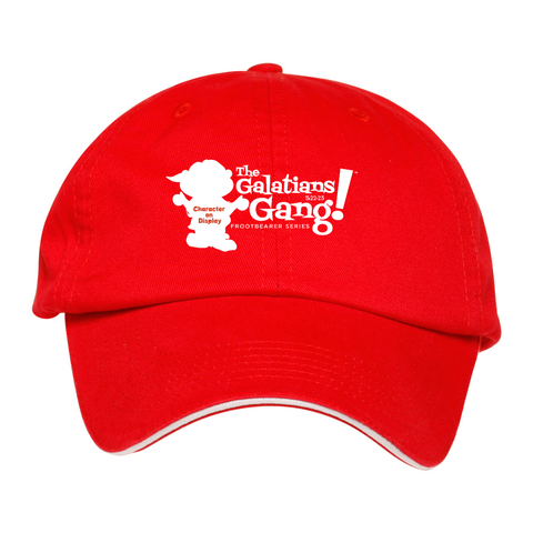 The Galatians 5:22-23 Gang™ Adult Cotton Baseball Cap