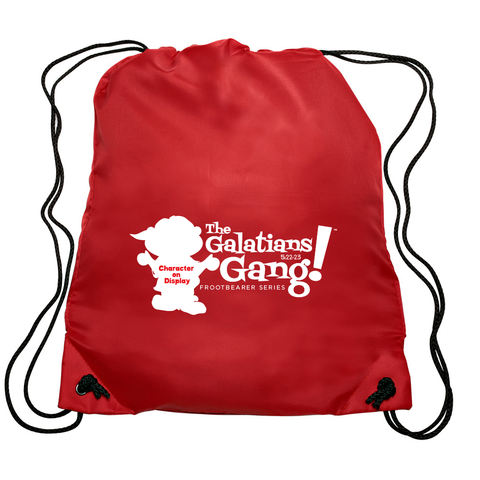 The Galatians 5:22-23 Gang™ Drawstring Bag