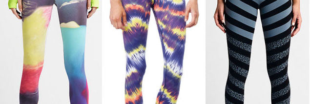 Patterned Running Leggings Vol. 1