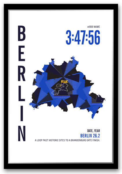 Berlin 26.2 Marathoner Map