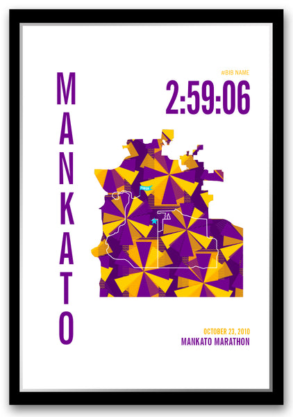 Mankato Marathoner Map