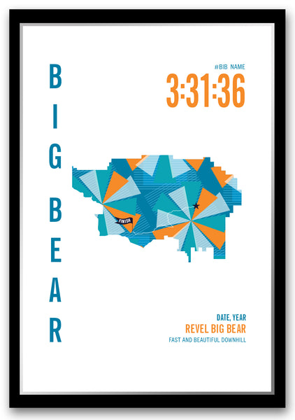Revel Big Bear Marathoner Map
