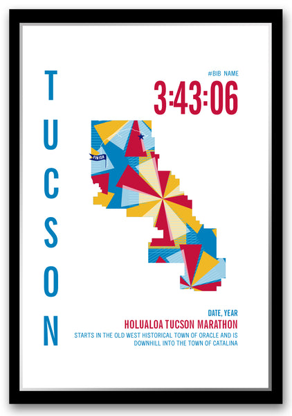 Tucson Marathoner Map