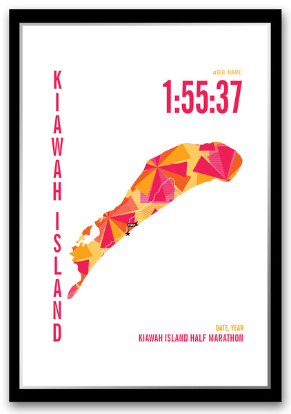 Kiawah Half Marathoner Map