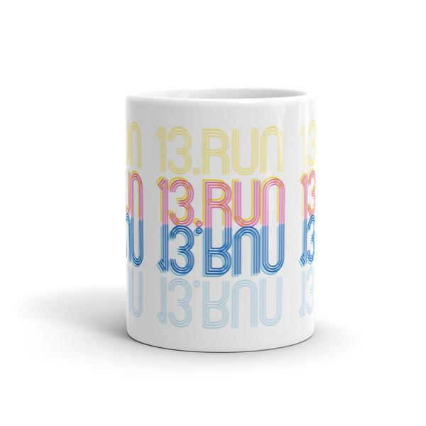 13.RUN Half Marathon Mug - Run Ink