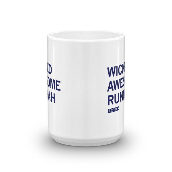 Boston Runner Mug - Run Ink