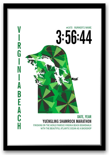 Shamrock Marathoner Map