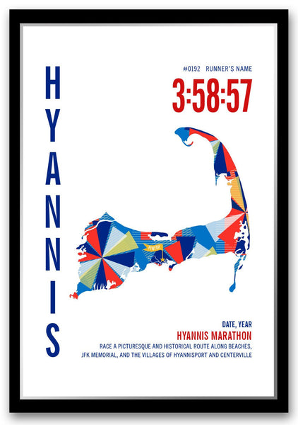 Hyannis Marathoner Map