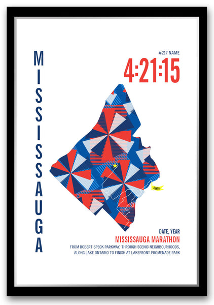 Mississauga Marathoner Map