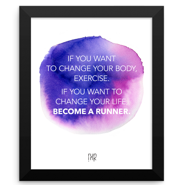Become A Runner - Run Ink