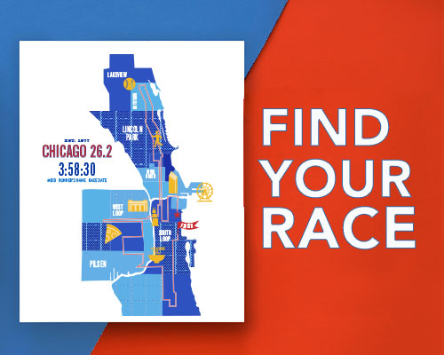 Chicago Marathoner Course Map