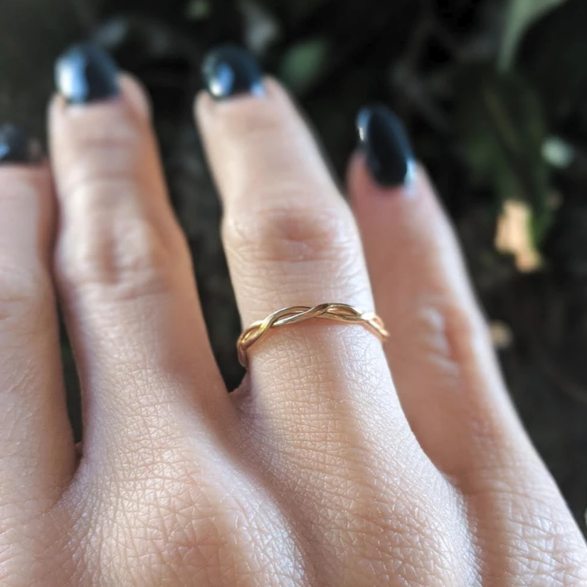 Mineral and Matter Cable Stacking Ring