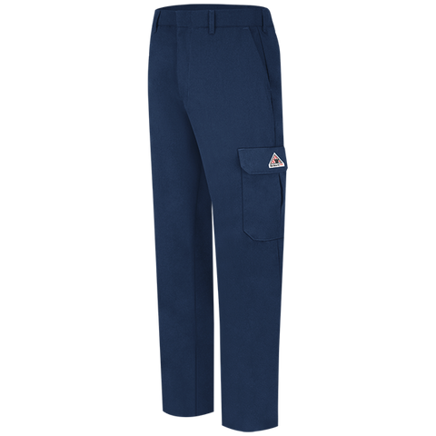 Cargo Pocket Pants - NAVY (Left and Right pockets w/snaps)