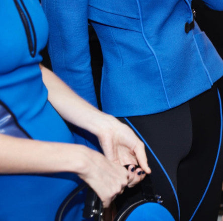 Fashion Designers Fall in Love with the Color Blue